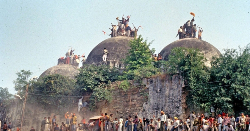 Crime of destruction of Babri committed, but who conspired