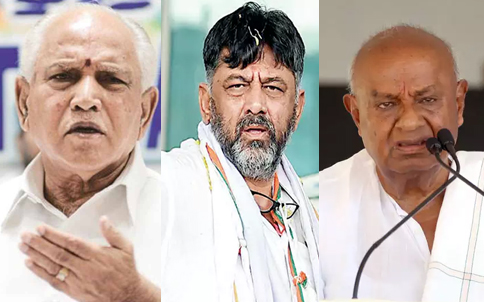 Karnataka by-polls: Crucial for 3 parties