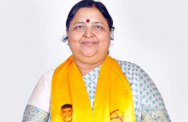 Tirupati: Panabaka Lakshmi is TDP's MP candidate for by election