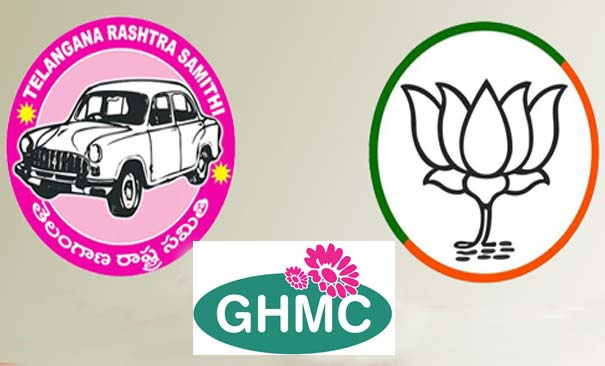 GHMC Polls : TRS, BJP compete in ad spend too