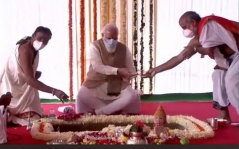 New Parliament Pooja