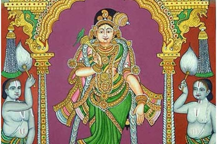 Yashoda binds Krishna with affection, not strength of ropes