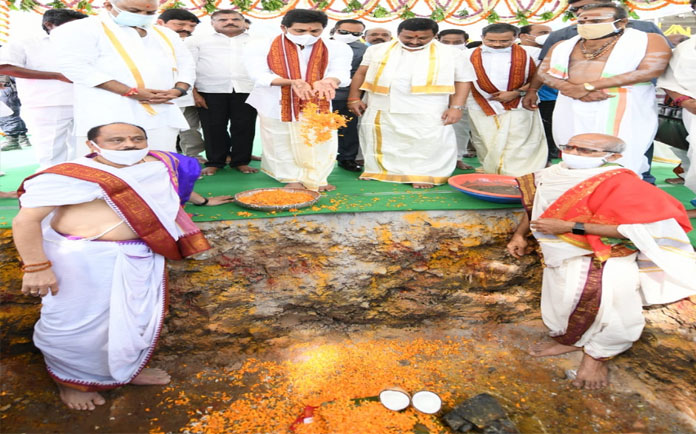 Jagan to reconstruct temples demolished in Naidu's regime