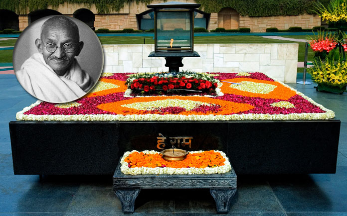Nation pays homage to Gandhi with False Sedition cases & Violent Attacks on Satyagraha