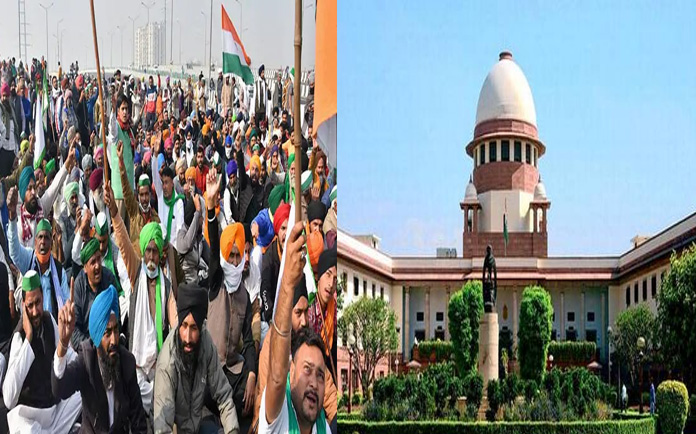 Hold farm laws or we will, SC to Centre