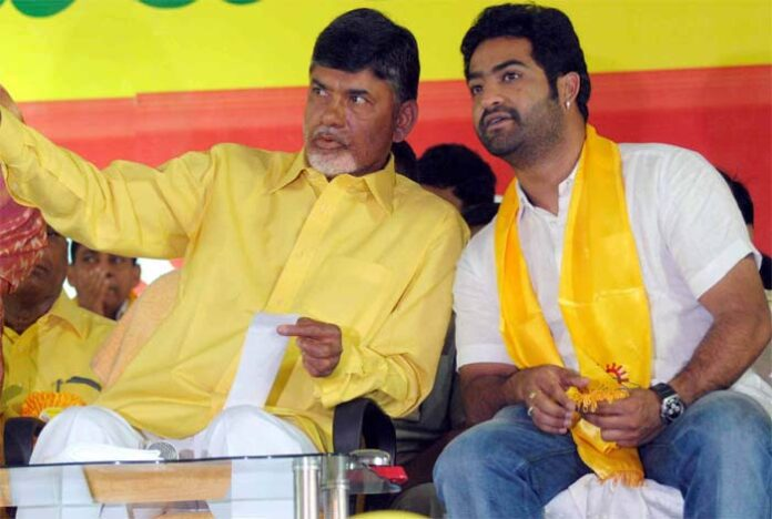 Naidu won't give place for NTR Junior